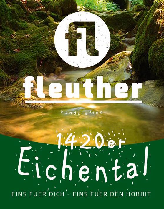 biersorte fleuther brown ale 1420er 2018 etikett