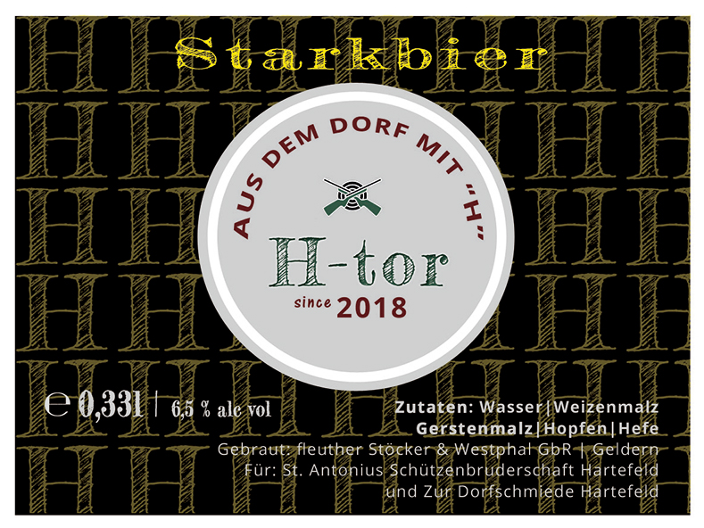 biersorte starkbier htor 2018 etikett