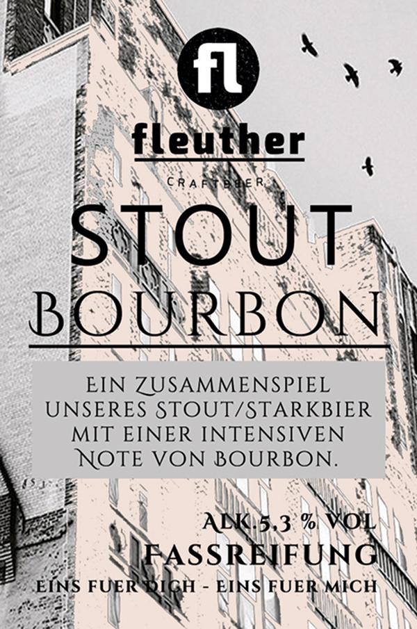 biersorten fleuther stout bourbon 2017 etikett