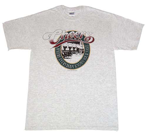 Cheers Shirt Boston Classic grau rot
