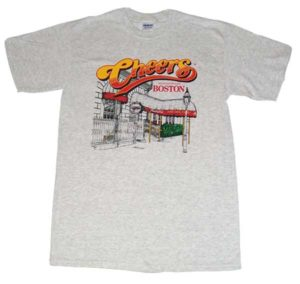T-Shirt Cheers Boston Classic 1