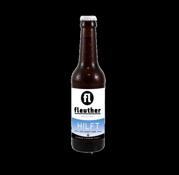 das charity bier von fleuther